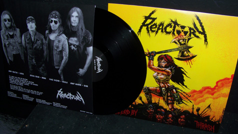 REACTORY - Killed By Thrash 12""